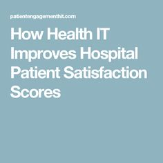 hospital volunteers how they impact patient satisfaction Patient satisfaction and healthcare customer experience improvement (including hcahps) from consultant micah solomon: 7 steps to hospital and healthcare patient satisfaction, hcahps, customer.