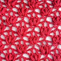 Crochet stitch with diagram