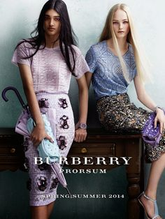 AD CAMPAIGN: Neelam Johal for Burberry, Sping/Summer 2014