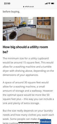 Utility Cupboard, Square Feet, Washing Machine, Shelving, Room, Bedroom, Shelves, Washer, Shelf