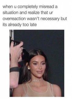 New Memes Funny Truths Kim Kardashian 31 Ideas Memes Humor, New Memes, Kardashian Memes, Funny Relatable Memes, Funny Facts, Funny Quotes, Jokes Quotes, Comebacks Memes, Mascara