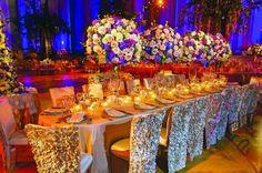Elegant wedding salon.