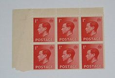 Stamp Pickers Great Britain 1936 Edward VIII MNH Block Lot Sc #231 Edward Viii, Great Britain, Auction, Stamp, Art, Art Background, Stamps, Kunst, Art Education