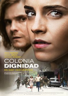 Check out Daniel Brühl, and Emma Watson in first poster for #Colonia. #DanielBrühl #EmmaWatson