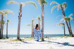 Summer Garden Luxe Round Beach Towel from https://thebohemianshop.com