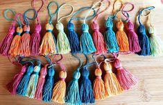 Wholesale Tassel 10 PCS CottonTassels, Morocco Style,Batik Art Tassels, Jewelry Making, DIY Craft Supplies, Home decor accessories