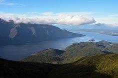 Blick auf den South Fjord