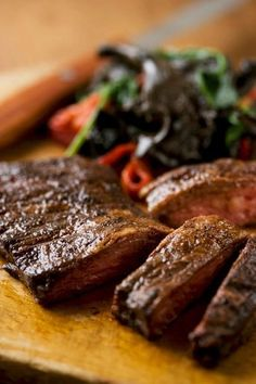 Tender meat - great marinade. You will have people coming for MORE. . .