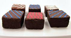 Styrofoam choc brownies