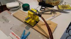 自宅録音研究所|Bedroom  Recordings Blog: スピーカーケーブルにフォンプラグをハンダ付けする作業|DIY、メンテナンスWork | which solders a phone plug to a speaker cable DIY, maintenance