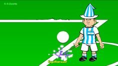 IRAN v ARGENTINA 0-1 by 442oons (Lionel Messi World Cup 2014 Cartoon 21....