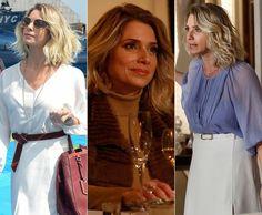 O estilo da personagem Letícia Spiller, a Soraya em I Love Paraisópolis, é tendência. A atriz elege o look favorito de sua persoangem. Confira ♥