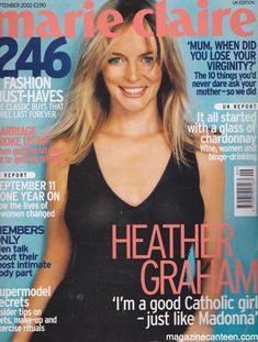 Issue number: dated: Star: Heather GrahamCondition: Very Good. Hollywood Fashion, Hollywood Actresses, Elisha Cuthbert, Eliza Dushku, Heather Graham, Michelle Rodriguez, Monica Bellucci, Gemma Arterton, Amber Heard