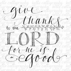 give thanks sayings drawn - Google Search