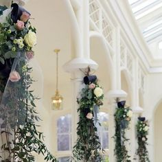 Tumbling flowers and foliages embellished with swathes of tulle. WEDDING GALLERIES | Eden Flower School & Wedding Flowers Wedding Flowers, Tulle Wedding, Wedding Gallery, Wreaths, Vintage Weddings, Table Decorations, Park, Galleries, School