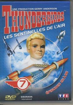 DVD Thunderbirds les sentinelles de l air N°7 épisode 25 à 28