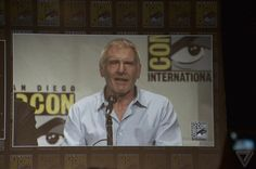 #SDCC #StarWars #TheForceAwakens Panel Harrison Ford is on the stage!