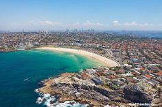 The world famous Bondi Beach is located a mere 7 kilometres from the centre of Sydney.