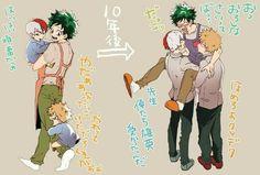 Boku no Hero Academia Katsu x Deku x Todo