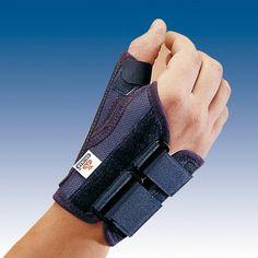 MUÑEQUERA SEMIRRÍGIDA INMOVILIZADORA CORTA CON FÉRULA PULGAR - REF: MP-D72 (DRCHA) / MP-I72 (IZQDA): Inmovilización funcional del pulgar, secuelas dolorosas por inflamación en artrosis y artritis. Tratamiento conservador después de cirugía o lesiones