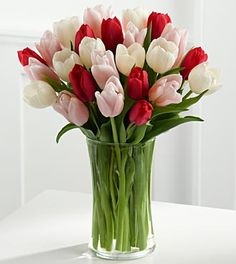 Here in My Heart Tulip Bouquet