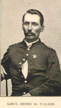 Lieutenant Henry M. Walker  13th Tennessee Cavalry Regiment - Company K- Union