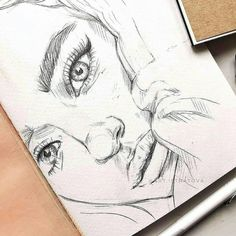 Excellent Pics ARTWOONZ - Art By IG: @ art. Suggestions For your decision to an Aesthetic-Plastic Surgery or alleged cosmetic surgery, there are many, speci Cool Art Drawings, Pencil Art Drawings, Realistic Drawings, Art Drawings Sketches, Art Visage, Arte Sketchbook, Face Sketch, People Art, Aesthetic Art