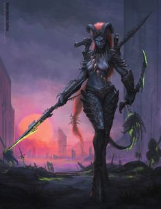 Worlds Collide: Predator universe with Warcraft universe.