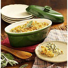 Turnip Green Casserole Recipe | www.countrydoor.com