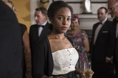Tina Argyll (Crystal Clarke) from Ordeal by Innocence - Miniseries). Tina carries about her an air of complete. Ordeal By Innocence, Quirky Fashion, Vintage Fashion, Murder Mysteries, Young Black, Agatha Christie, Great Movies, Black Girls, Character Inspiration