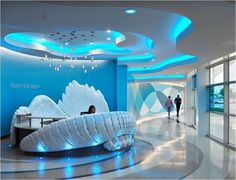 55 Modern POP false ceiling designs for living room pop design for hall 2019 Clinic Design, Healthcare Design, Medical Design, Pop Design, Design Ideas, Stand Design, Design Case, Design Styles, Design Concepts