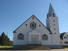 Lac-des-Plages (église Saint-André), Québec, Canada (45.998627, -74.888633)