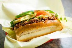 Saigon Deli Sandwich & Taco Valparaiso may be the only place in the Bay Area where you can eat al pastor-style pork not just on a taco, but also inside a crunchy banh mi - East Bay Express
