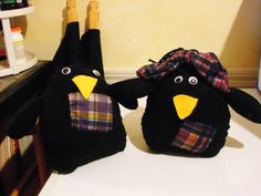 My little Crows I made