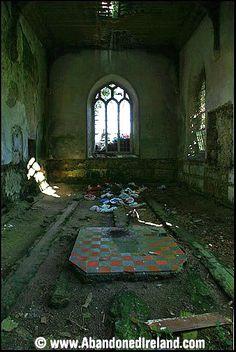 Abandoned Ireland Ahamlish Church, Sligo.