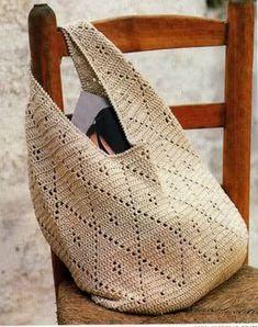 Bolsos, bolsos, bolsos, ..., bolsos de crochet