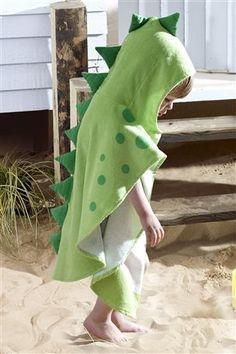 Dinosaur poncho towel - Next £12