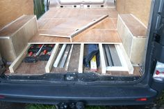 photos of ford transit handyman van layouts - Google Search