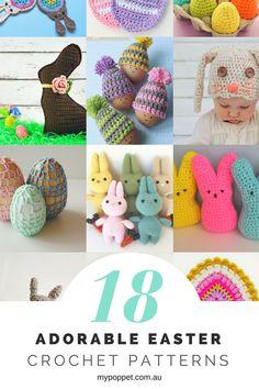 18 Adorable Easter Crochet Patterns