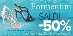 Continuano i SALDI a -50% da #FormentiniOutlet e per ogni acquisto un BUONO SCONTO del 15% da utilizzare presso il CENTRO BENESSERE dell' Hotel Horizon