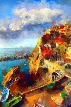 "Tzviatko Kinchev ~ ""The coast of morning colors"""