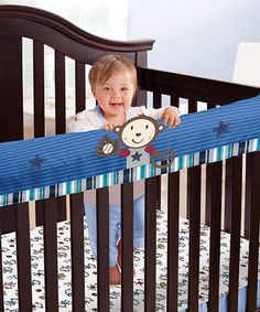 Take a look at the Summer Infant Team Monkey Crib Hugger on #zulily today!