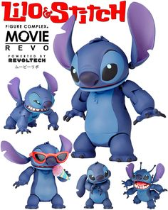 Action Figure Stitch Revoltech Complex Movie Revo Disney Stitch, Lilo E Stitch, Stitch Cartoon, Star Wars Poster, Star Wars Art, Star Trek, Monsters Inc Toys, Leia Star Wars, Star Wars Girls