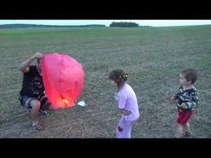 Неудачный запуск небесного фонарика((( - YouTube