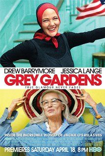 "Grey Gardens (2009). Director: Michael Sucsy. Stars: Drew Barrymore, Jessica Lange. IMDb rating: 7,3. - ""Edith ""Big Edie"" Ewing Bouvier Beale and her daughter Edith ""Little Edie"" Bouvier Beale were the aunt and first cousin of Jacqueline Bouvier Kennedy Onassis. The two women lived together at Grey Gardens for decades with limited funds, resulting in squalor and almost total isolation."""
