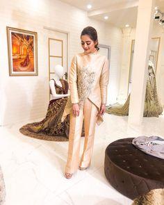 Pakistani Couture, Pakistani Dresses, Designer Wear, Designer Dresses, Aiman Khan, Sleeve Designs, Bollywood Fashion, Traditional Dresses, Best Brand