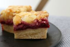 Thermomix Raspberry & Almond Slice