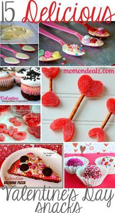 15 Delicious Valentine's Day Snacks