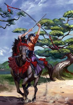 anime archery horse - Google Search