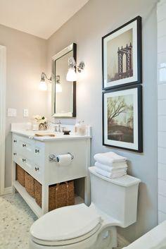 EyePoetryPhotography on Etsy. Client Project: Bathroom Reno - Vanessa Francis Design